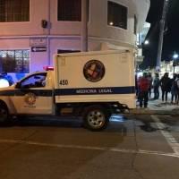 Un motociclista y un ciclista fallecieron en un accidente de tránsito en Cuenca
