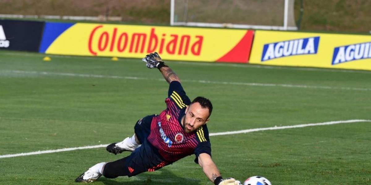 ¡Baja de última hora en Colombia! David Ospina no atajará ante Ecuador