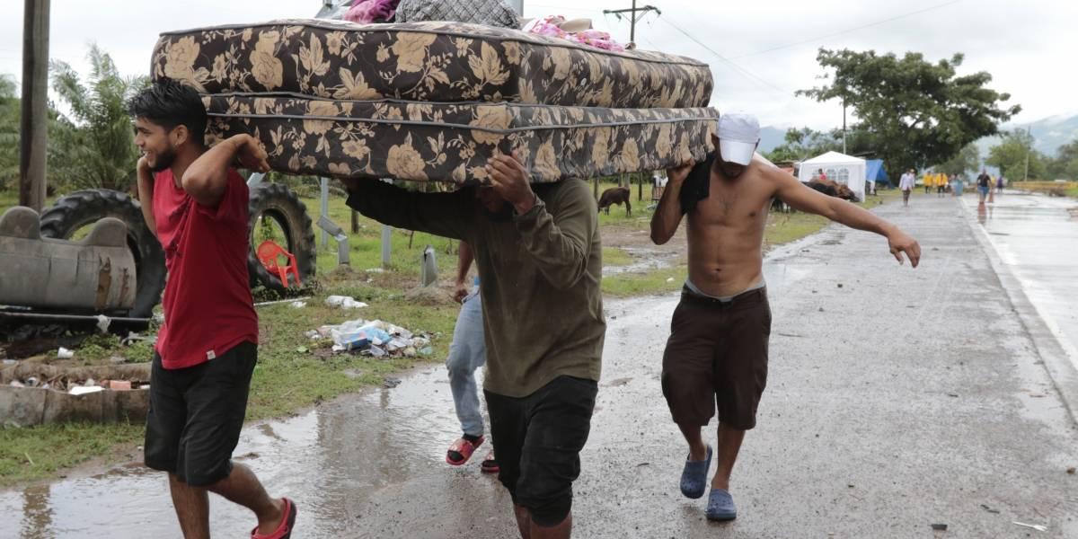 Comienzan a reportar daños del huracán  IOTA en Honduras y Nicaragua