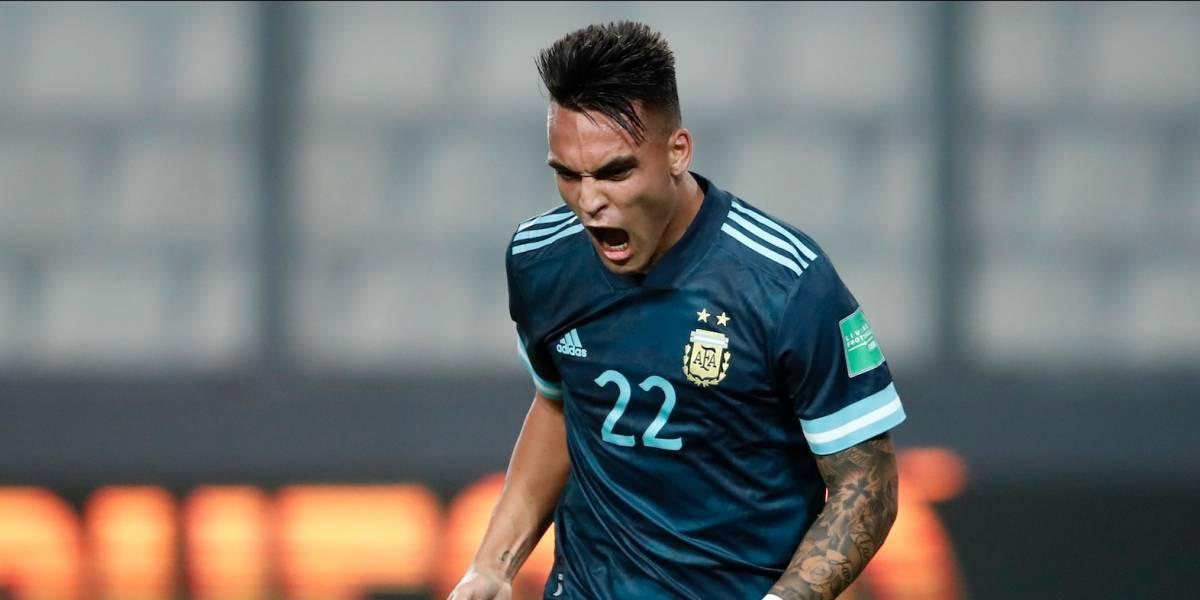 VIDEO | ¡Y la banda sigue, ganando! Argentina, sin depender de Messi, venció a Perú (0-2)