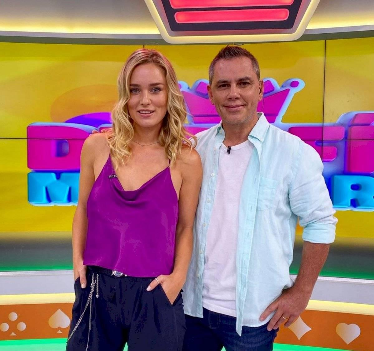 Kika Silva y José Miguel Viñuela
