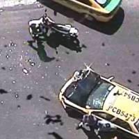 Cierre de tres carriles en Tumbaco por accidente de tránsito