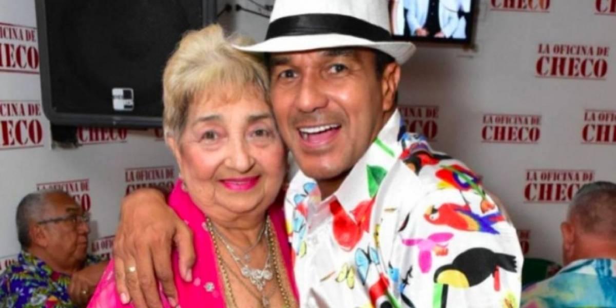 Murió Ruth Agudelo, la madre del 'Checo' Acosta
