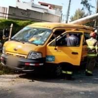 Cierre en Autopista General Rumiñahui: 12 personas heridas en accidente de tránsito