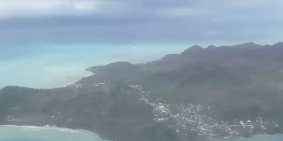 VIDEO: Así quedó Providencia luego del paso del huracán Iota