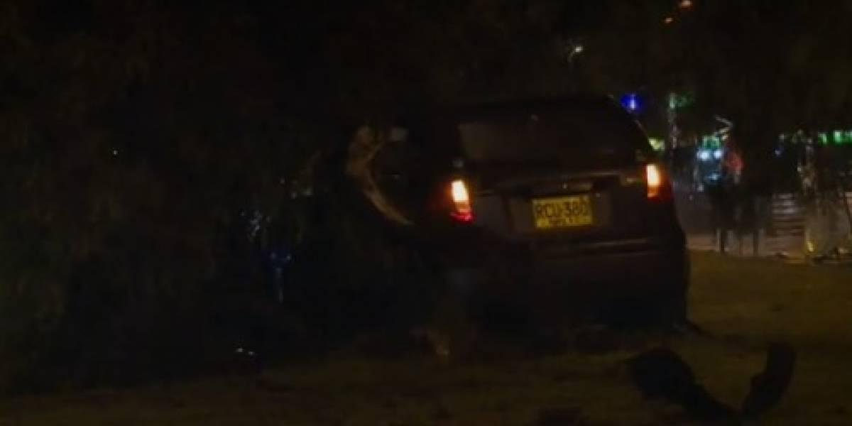 Accidente en la avenida Boyacá, ¿culpa de los tragos o de la lluvia?