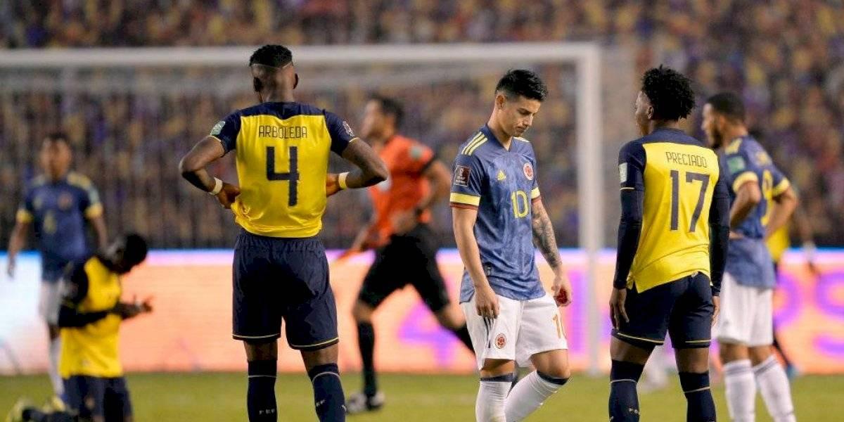 Humillación... Colombia cayó goleada 6-1 en Quito, ¿Seguirá Queiroz?