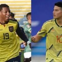 ¿Cómo le ha ido a Ecuador enfrentando a Colombia de local por las Eliminatorias?