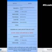 CNE habilita aplicación móvil para para consultar lugar de votación y si es miembro de