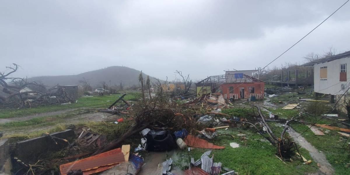 FOTOS: Así quedó la isla colombiana Providencia tras pasó del huracán Iota