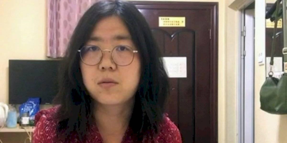 Periodista china afronta cinco años de cárcel por informar del brote de coronavirus en Wuhan