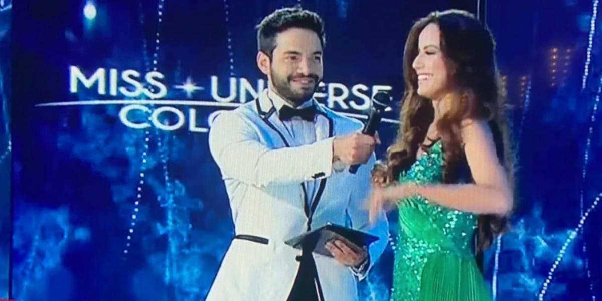 El error de Sebastián Carvajal en Miss Universe Colombia que no le perdonaron en redes
