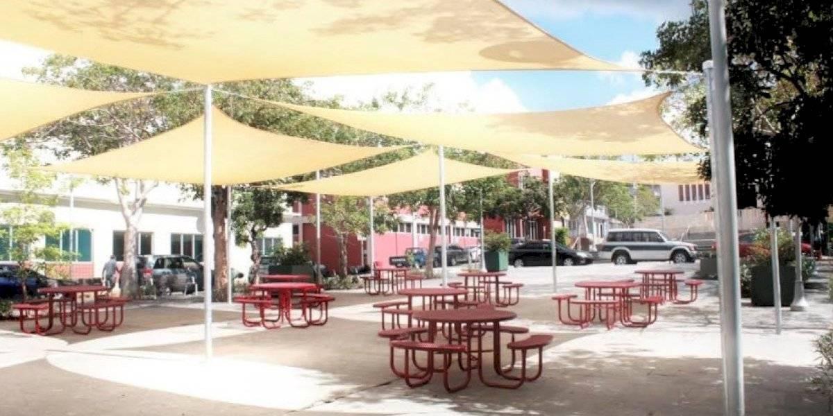 Morovis transforma su plaza con espacios de servicio con wifi