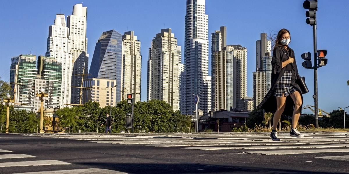 Argentina está en baja en los casos en los últimos días — Coronavirus
