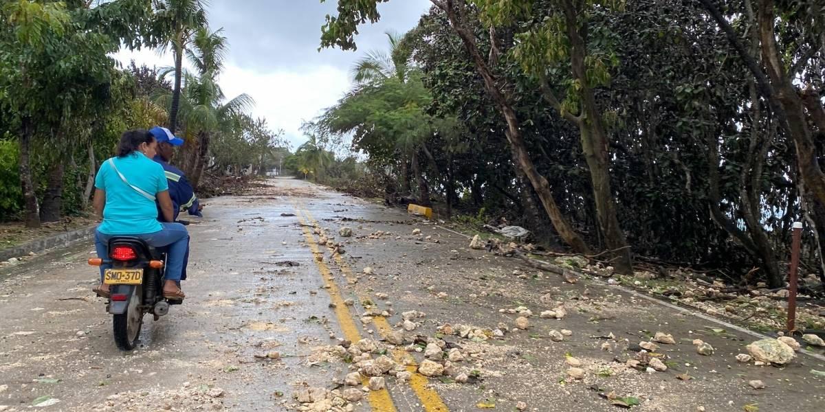 San Andrés reabre su aeropuerto para que turistas vuelvan a sus casas