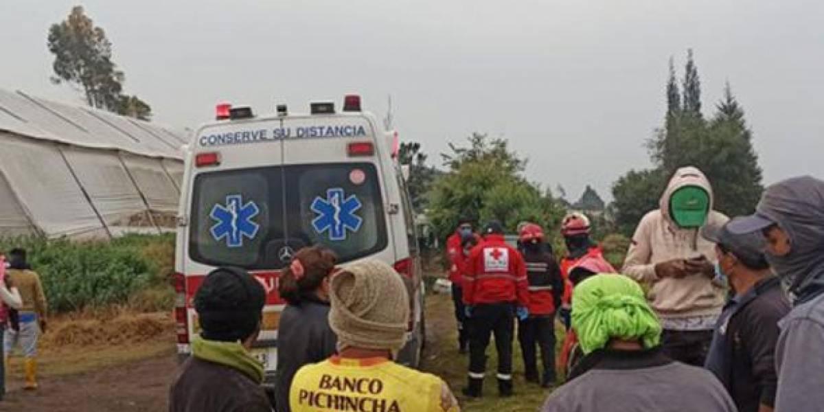 Dos personas fallecieron tras ser alcanzados por rayos en Riobamba