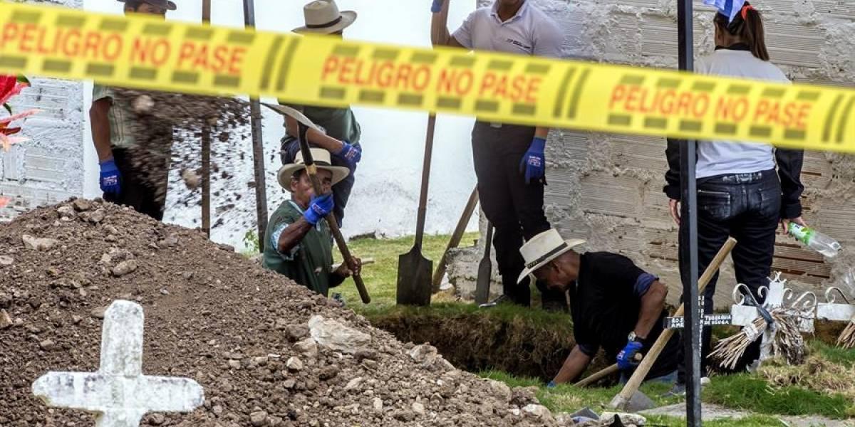 La JEP descubrió 17 restos de cuerpos en cementerio de Dabeiba