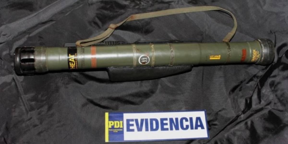 Prisión preventiva para sujeto que compró un lanzacohetes antitanque a $30 mil en una feria libre