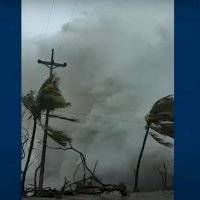 Registro impactante: onda gigante surpreende moradores de San Andrés