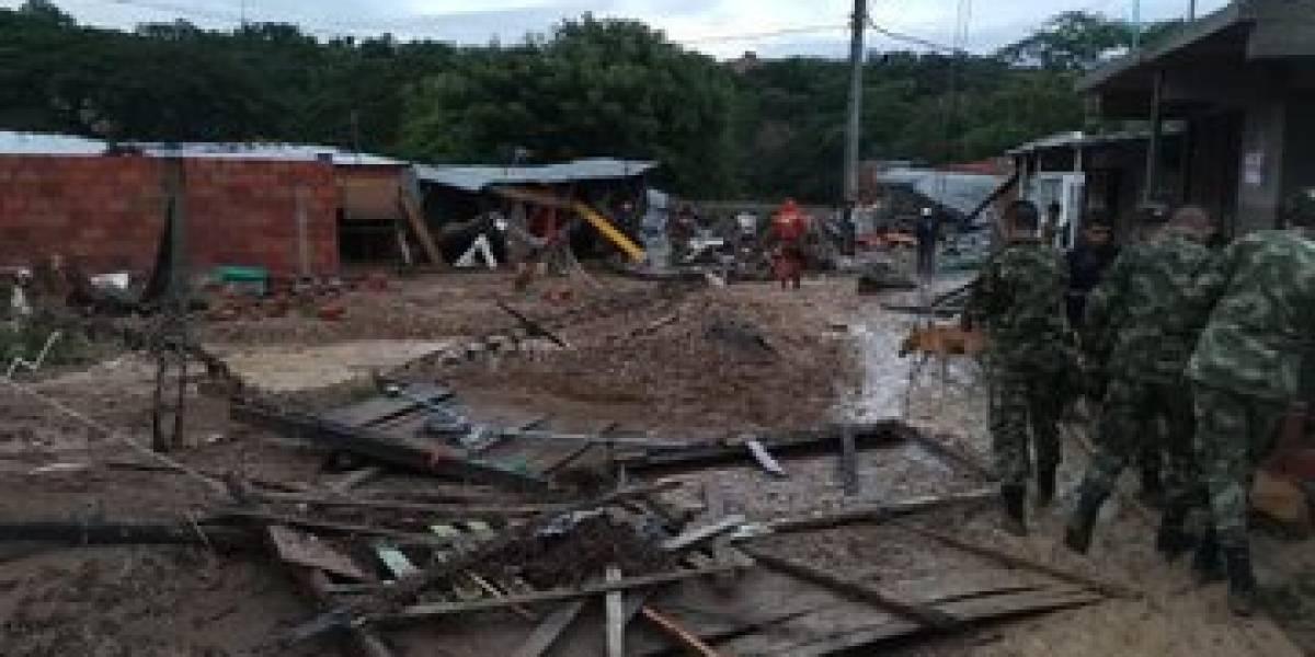 ¡Atención! Habría tres muertos y cuatro desaparecidos en Cúcuta por fuertes lluvias