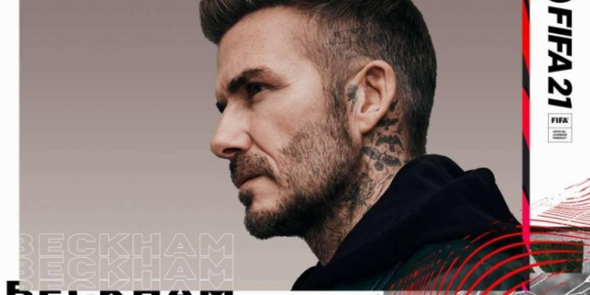 FIFA 21 David Beckham estará en el popular videojuego de EA Sports