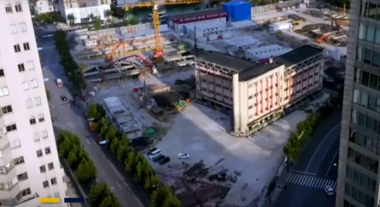 El edificio que pudo moverse gracias a la robótica.