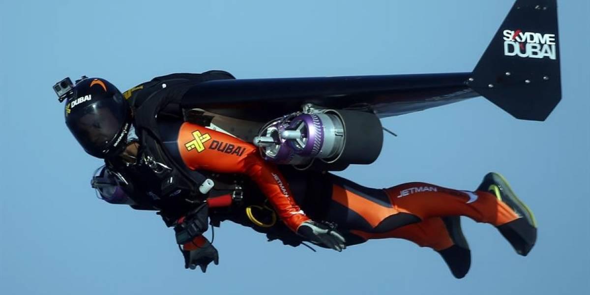 El 'hombre pájaro', o 'Iron Man' francés, muere en un accidente de entrenamiento