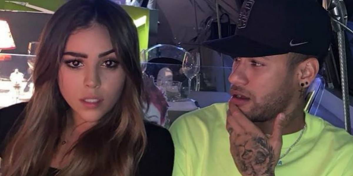 Danna Paola y Neymar coquetean y por esta razón se habla de un romance
