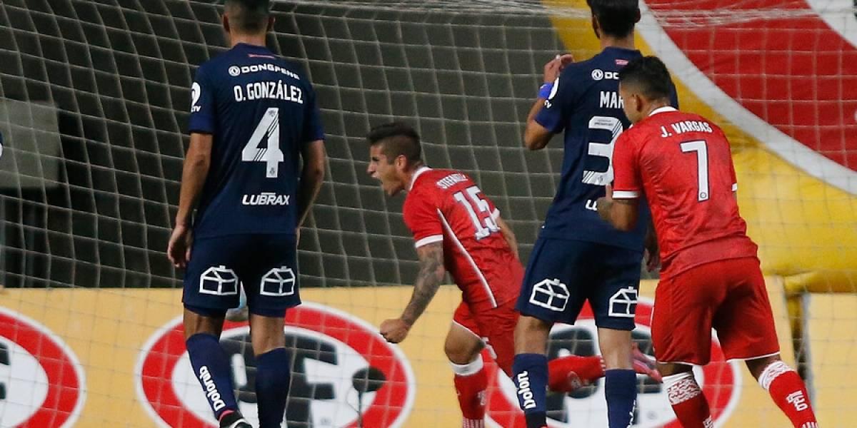 Un penal de último minuto le dio el triunfo a Unión La Calera sobre la U