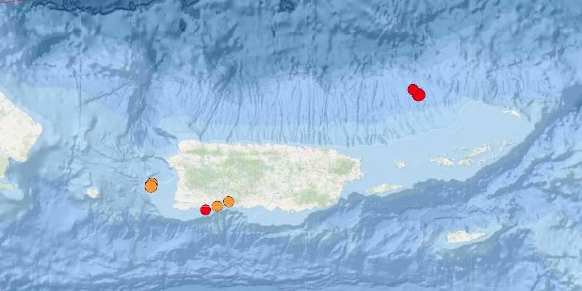 Reportan temblor al noreste de Culebra
