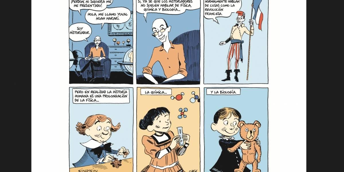 La historia de la humanidad se cuenta en viñetas en 'Sapiens, una historia gráfica'