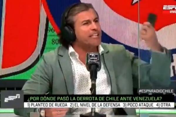 """La furiosa reacción de Fernando Solabarrieta que llamó la atención en redes sociales: """"¡No tengo Twitter!"""""""