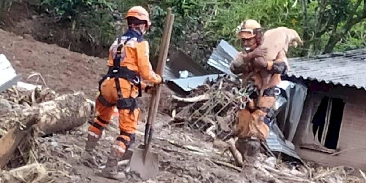Trágico panorama: 59 mil familias afectadas en el país por la ola invernal