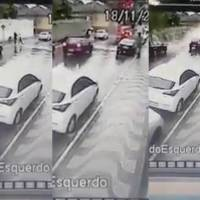 Muro colapsa por fuertes lluvias y aplasta a madre e hija en Brasil