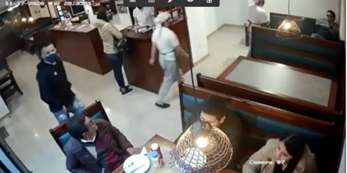 Pizzería de Quito se pronuncia tras el robo en sus instalaciones