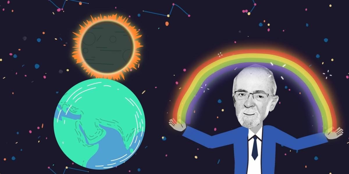 El profesor José Maza ahora será un dibujo animado en un programa de divulgación científica