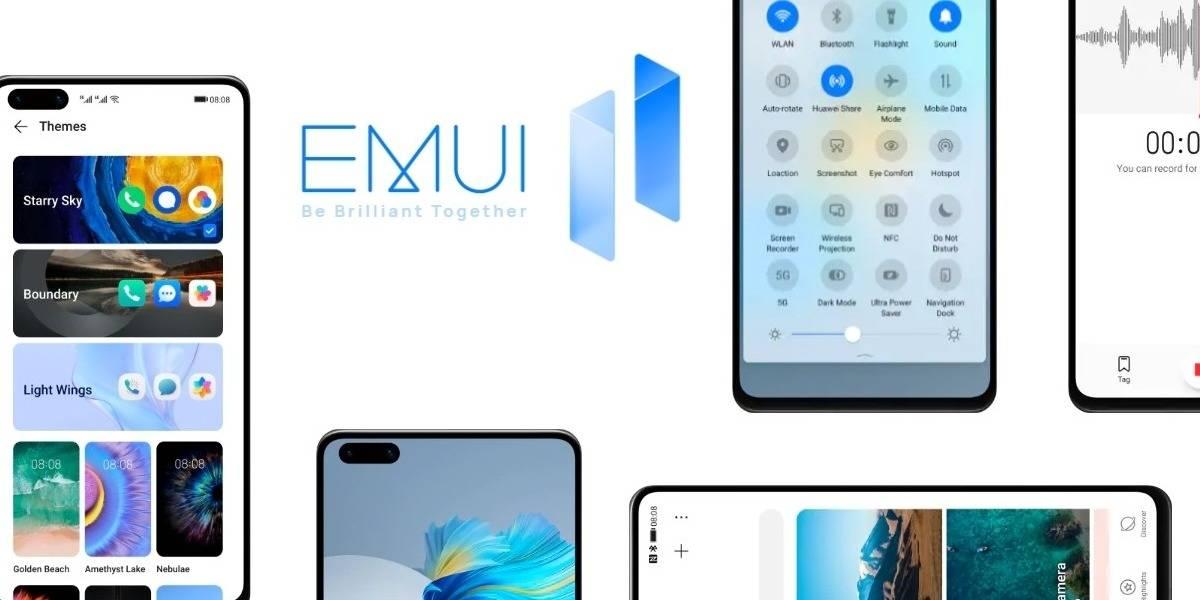 Huawei: 14 nuevos celulares ya pueden acceder a EMUI 11