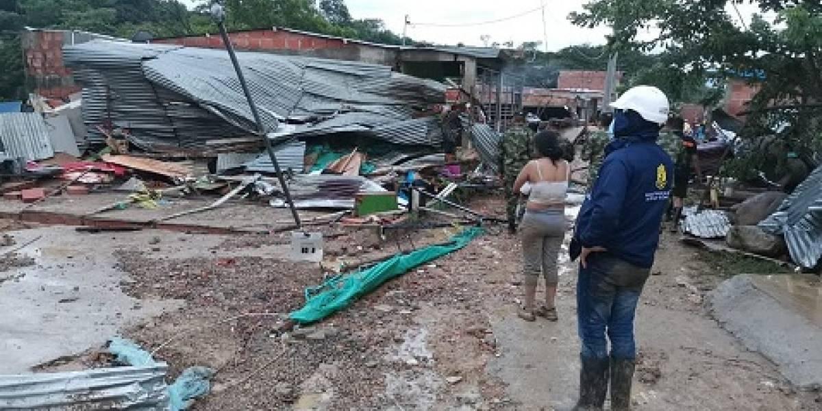 Las lluvias dejan seis muertos y ocho desaparecidos en Cúcuta