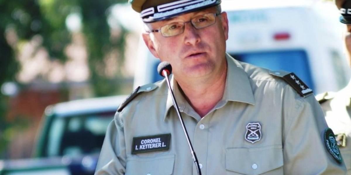 Llueve sobre mojado: general de Carabineros de La Araucanía renunció antes de asumir