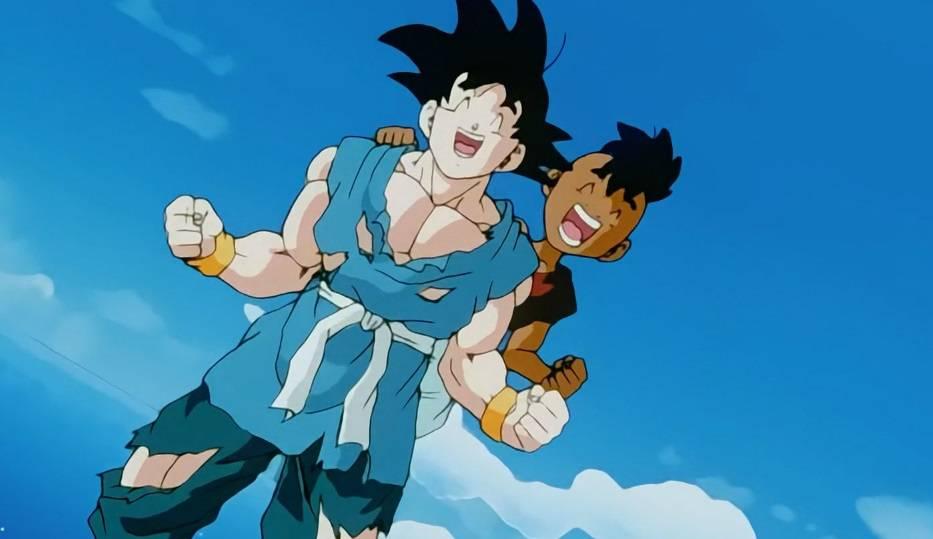 Goku y Uub