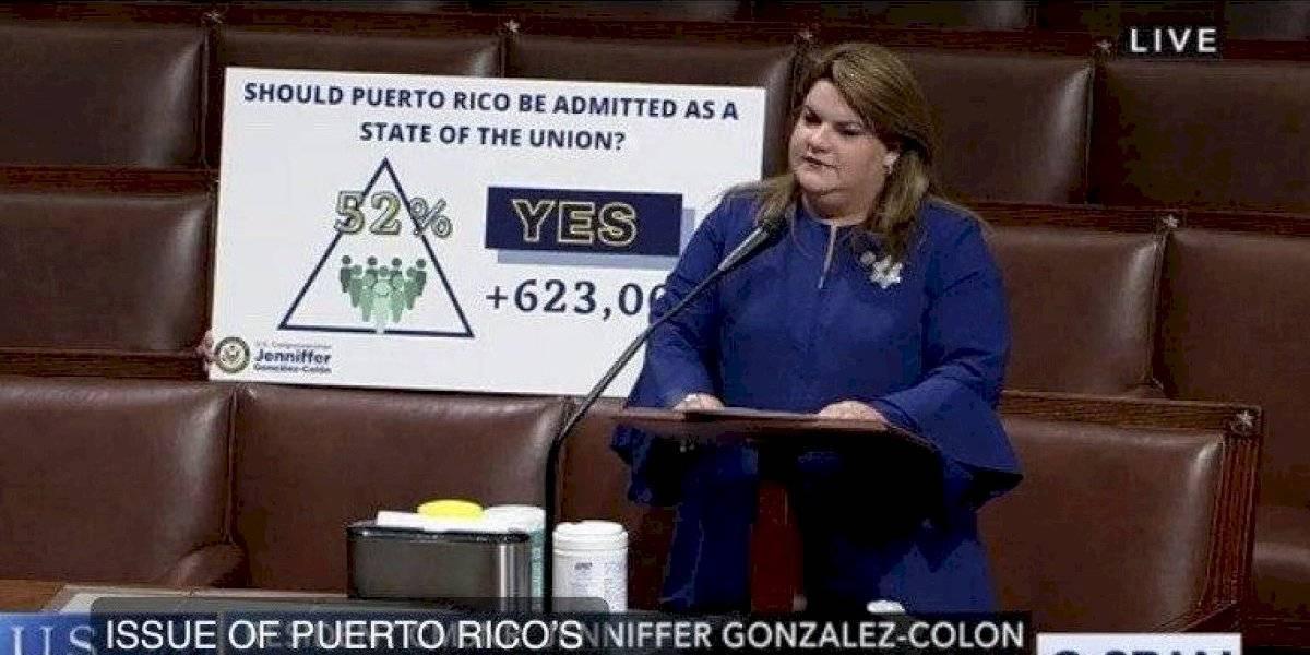 Jenniffer González exige al Congreso acción sobre el plebiscito
