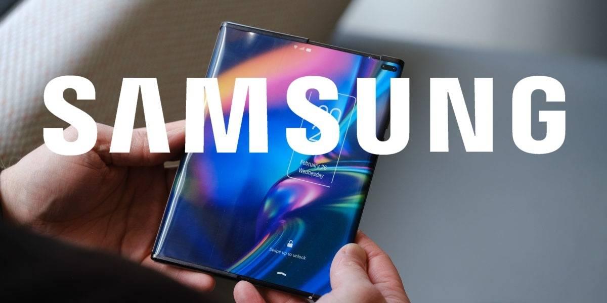 Samsung podría ser la primera marca en lanzar un smartphone que se enrolla
