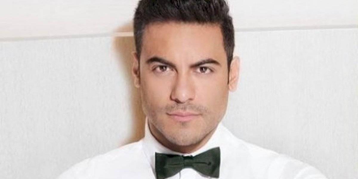 Carlos Rivera cancela participación como anfitrión de los Latin Grammy 2020