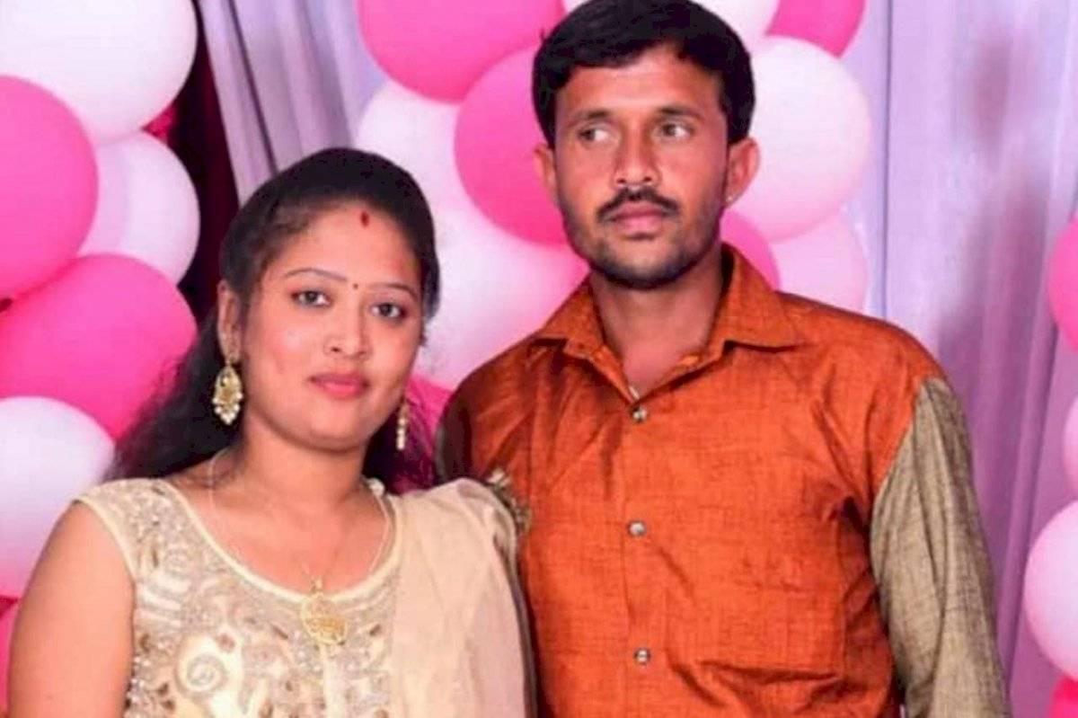 Chandru, de 28 años, y Shashikala, de 20, murieron ahogados poco antes de su boda