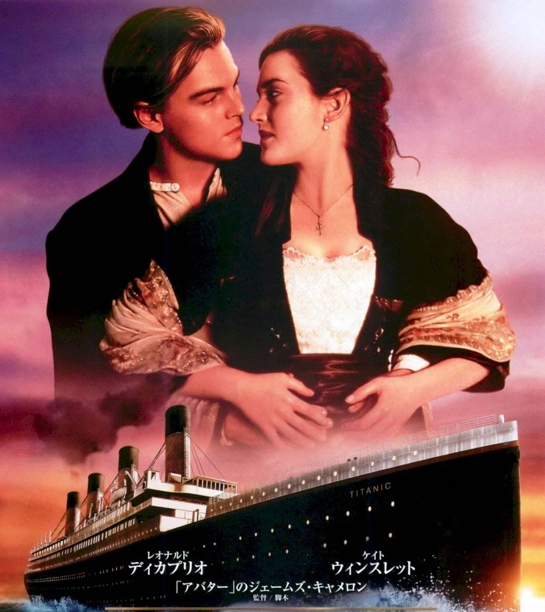 Titanic se convirtió en la cinta más costosa y taquillera en su momento