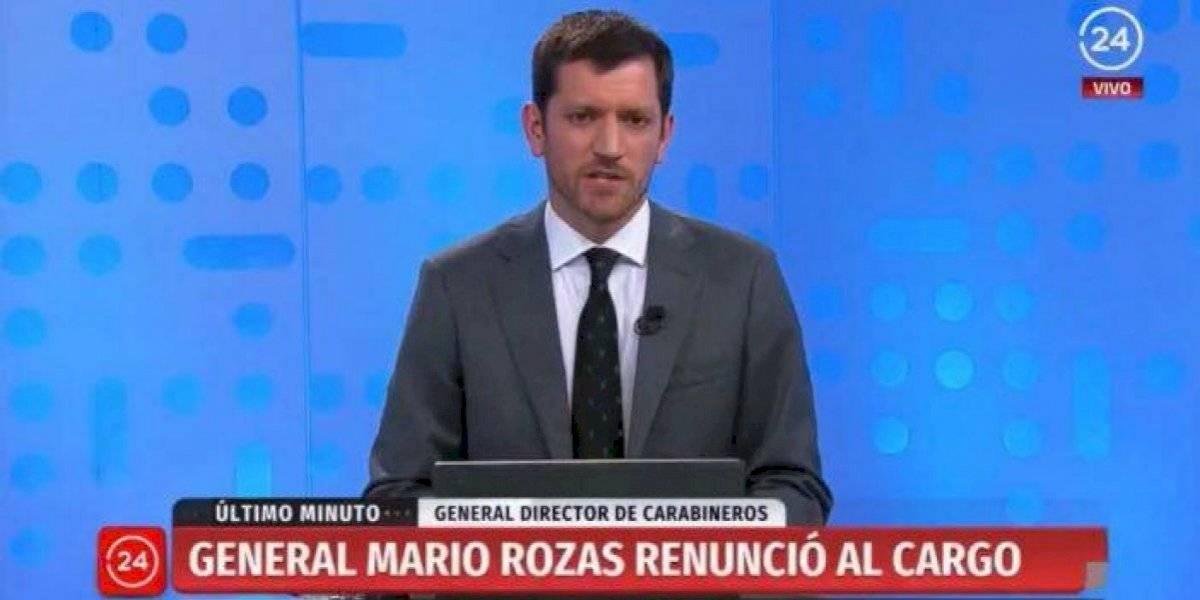 Periodista de TVN Nicolás Vial corrige a Piñera en plena transmisión y se llena de elogios en redes sociales