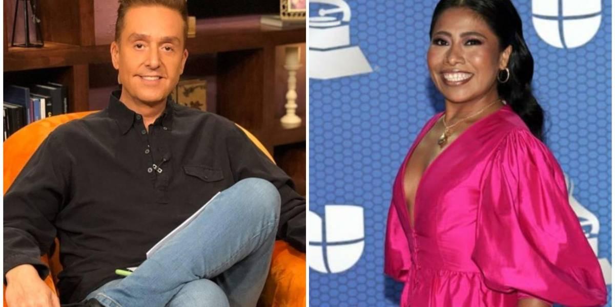 Daniel Bisogno se va con todo contra Yalitza Aparicio por su conducción en los Grammy