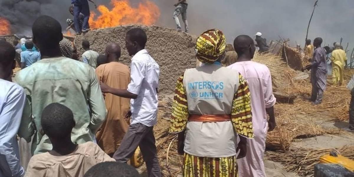 Nigeria.- La OIM comienza la descongestión de los superpoblados campos de desplazados internos en Borno (Nigeria)
