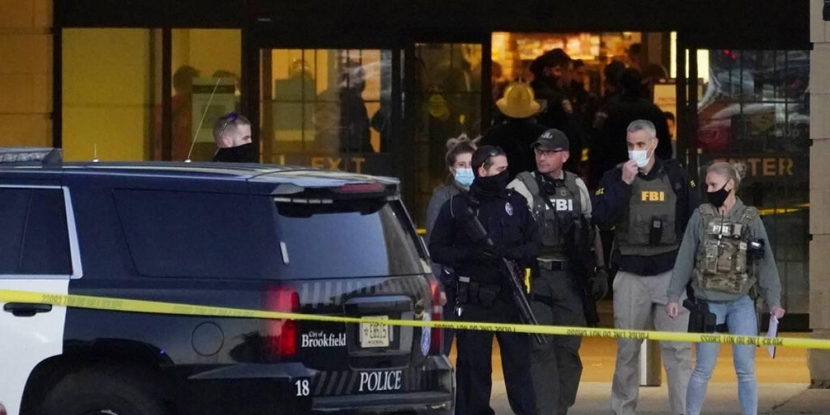 8 heridos por tiroteo en centro comercial en Wisconsin