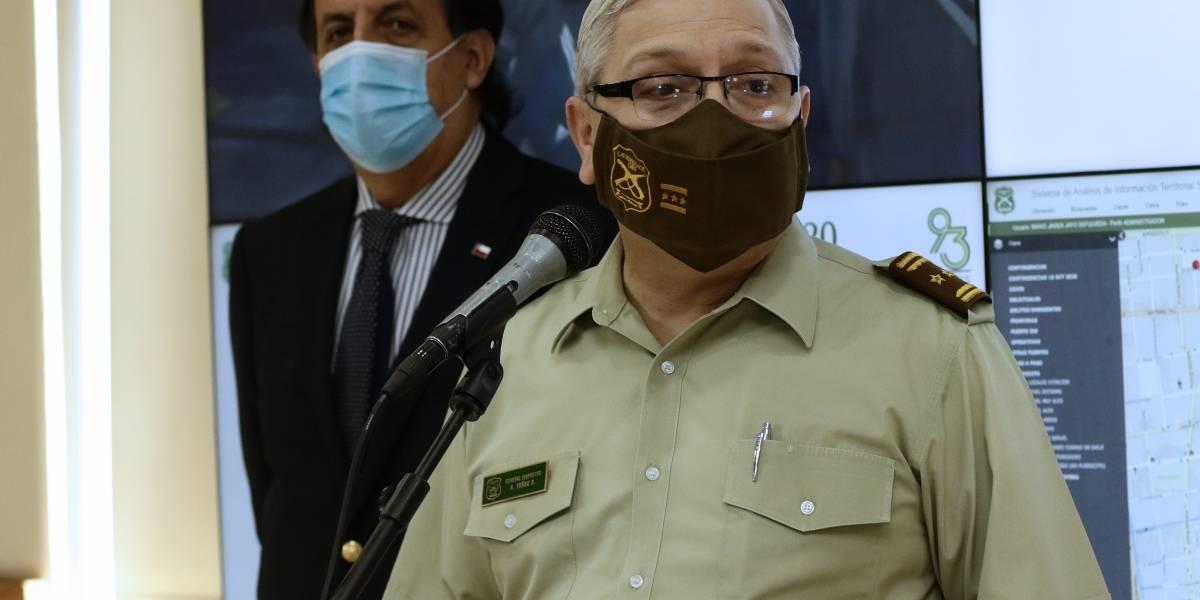 """General director de Carabineros reconoce necesidad de """"afinar protocolos"""" en casos como el de Sename"""